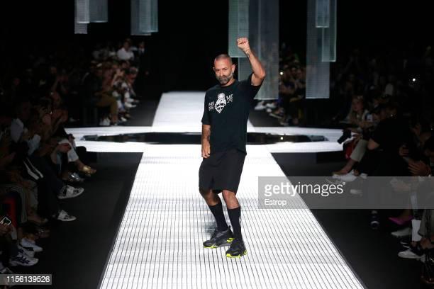 Fashion designer Marcelo Burlon at the Marcelo Burlon County Of Milan fashion show at the Milan Men's Fashion Week Spring/Summer 2020 on June 15 2019...