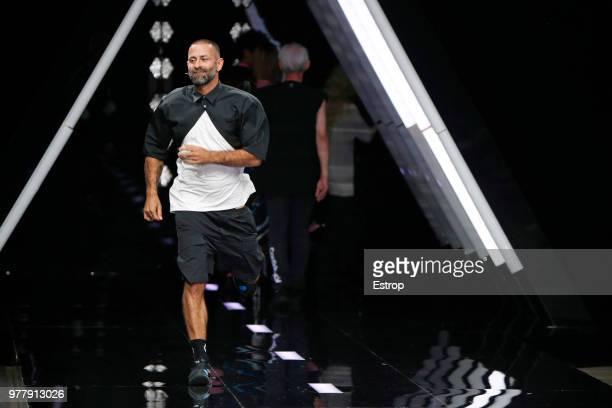 Fashion designer Marcelo Burlon at the Marcelo Burlon County Of Milan show during Milan Men's Fashion Week Spring/Summer 2019 on June 16 2018 in...
