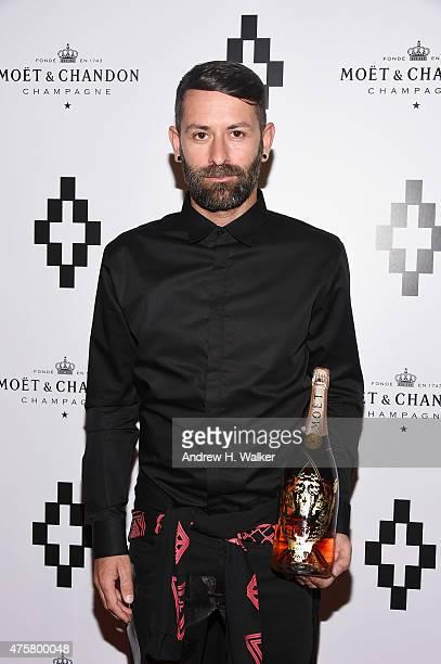 Fashion designer Marcelo Burlon attends the Moet Nectar Imperial Rose x Marcelo Burlon Launch Event on June 3 2015 in New York City