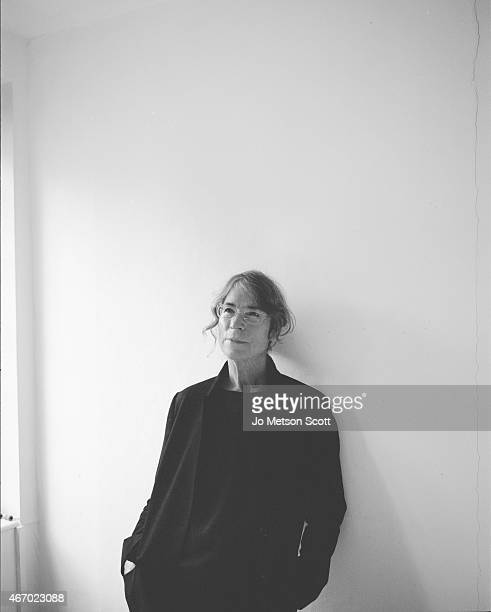 Fashion designer Margaret Howell is photographed for Union magazine on February 7 2014 in London England