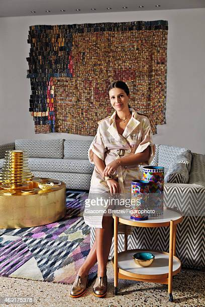 Fashion designer Margherita Maccapani Missoni is photographed for Madame Figaro on January 7 2015 in Rome Italy PUBLISHED IMAGE CREDIT MUST READ...