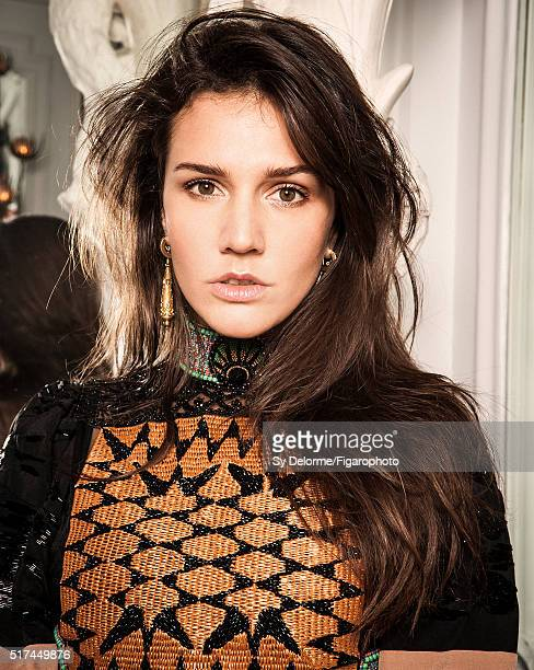 Fashion designer Margherita Missoni is photographed for Madame Figaro on January 27 2016 in Paris France Dress vintage earrings CREDIT MUST READ Sy...