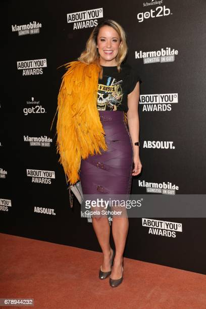 Fashion designer Marina Hoermanseder during the ABOUT YOU AWARDS at the 'Mehr! Theater' in Hamburg on May 4, 2017 in Hamburg, Germany.