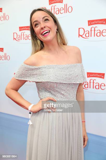 Fashion designer Marina Hoermanseder during the Raffaello Summer Day 2018 to celebrate the 28th anniversary of Raffaello on June 21, 2018 in Berlin,...
