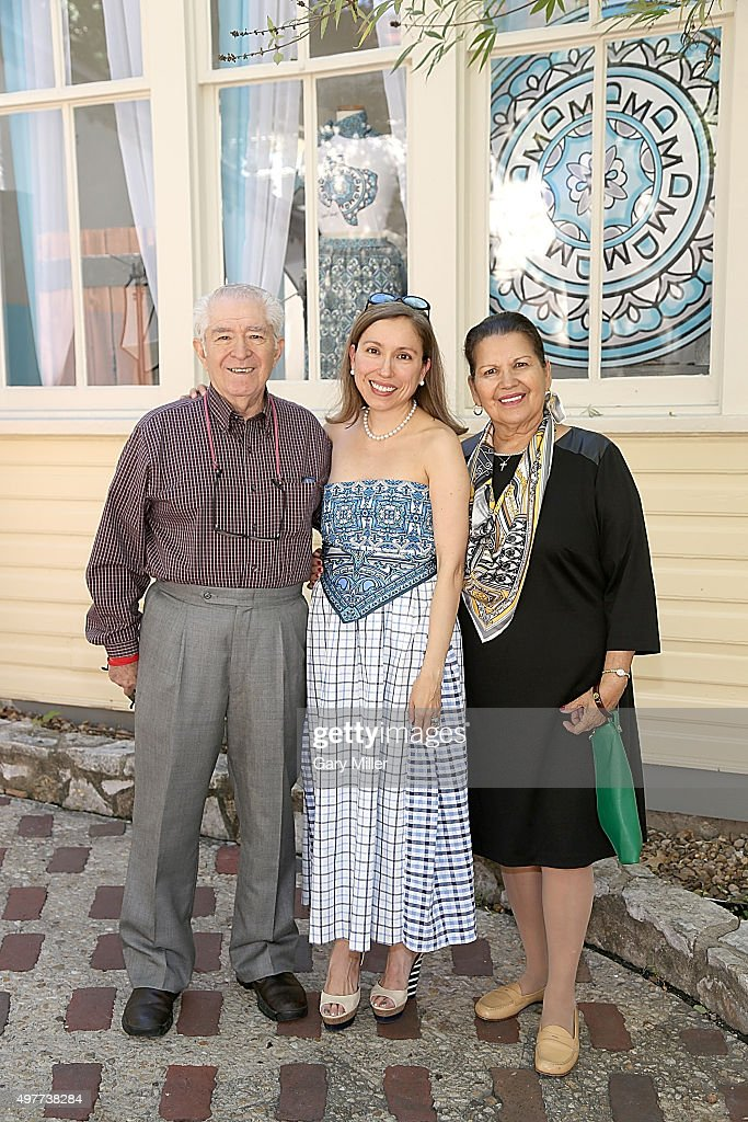 Marisol Deluna New York Celebrates Grand Opening Of Design Studio And Educational Foundation At La Villita Historic Arts Village : News Photo