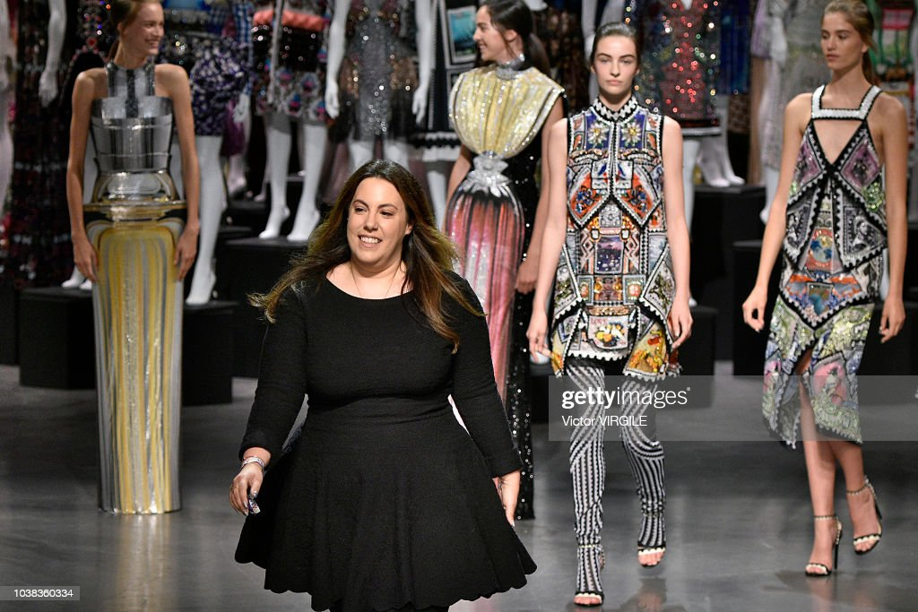 Mary Katrantzou - Runway - LFW September 2018 : News Photo