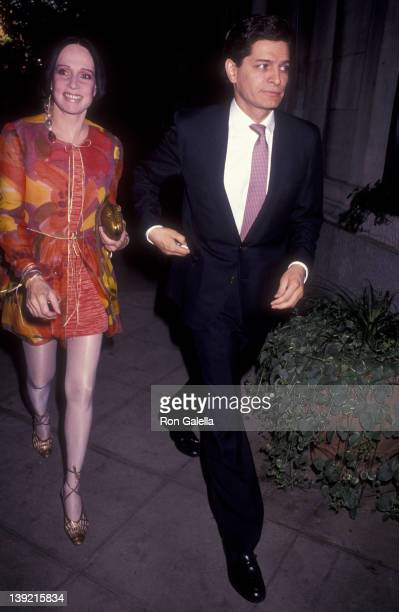 Fashion Designer Mary McFadden attends Second Anniversary Party for Mirabella Magazine on June 26 1991 at Le Cirque in New York City