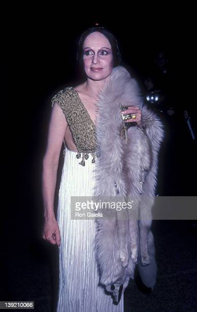 Fashion Designer Mary McFadden attends The Metropolitan Museum of Art Costume Institute Gala Exhibition The Manchu Dragon Costumes of ChinaChing...