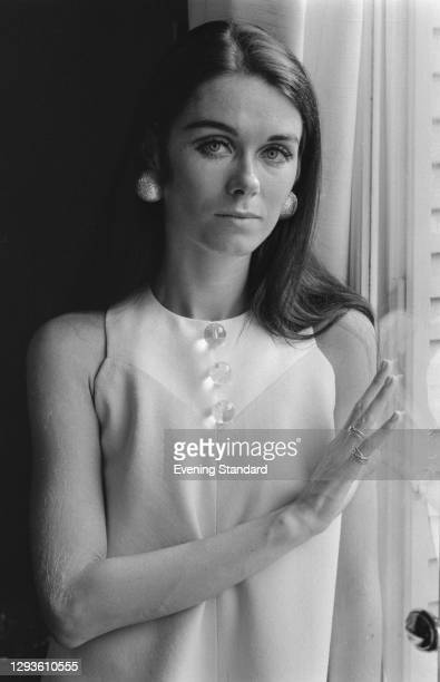 Fashion designer Maryll Lanvin, the wife of Bernard Lanvin, UK, 26th July 1967.