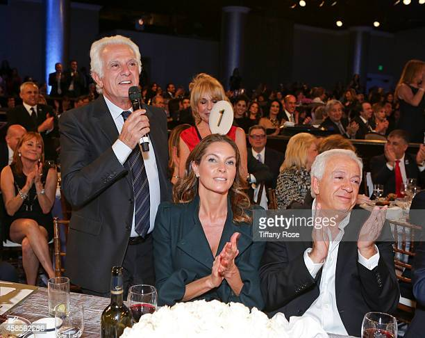 Fashion designer Maurice Marciano Mareva Georges Marciano and fashion designer Paul Marciano attend the Friends Of The Israel Defense Forces 2014...