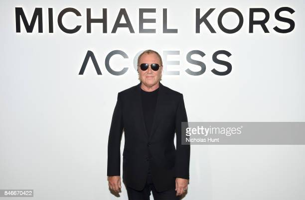Fashion Designer Michael Kors attends Michael Kors and Google Celebrate new MICHAEL KORS ACCESS Smartwatches at ArtBeam on September 13, 2017 in New...
