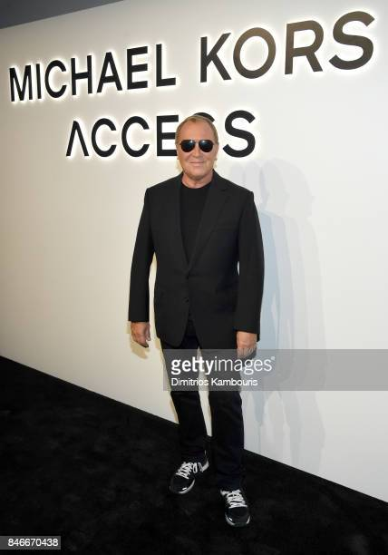 Fashion Designer Michael Kors attends Michael Kors and Google Celebrate new MICHAEL KORS ACCESS Smartwatches at ArtBeam on September 13 2017 in New...