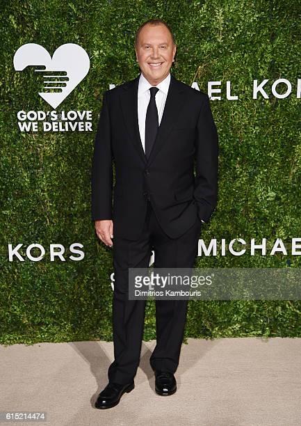 Fashion designer Michael Kors attends the God's Love We Deliver Golden Heart Awards on October 17 2016 in New York City