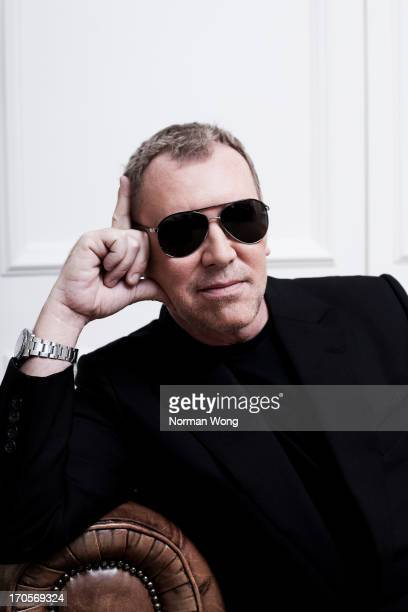Fashion designer Michael Kors is photographed for NUVO on March 31 2010 in Toronto Ontario