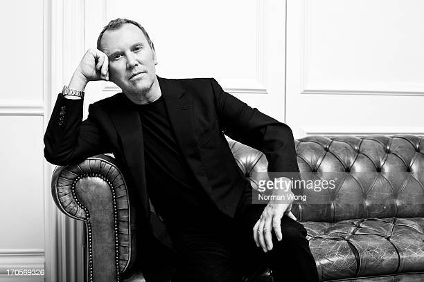 Fashion designer Michael Kors is photographed for NUVO on March 31, 2010 in Toronto, Ontario.