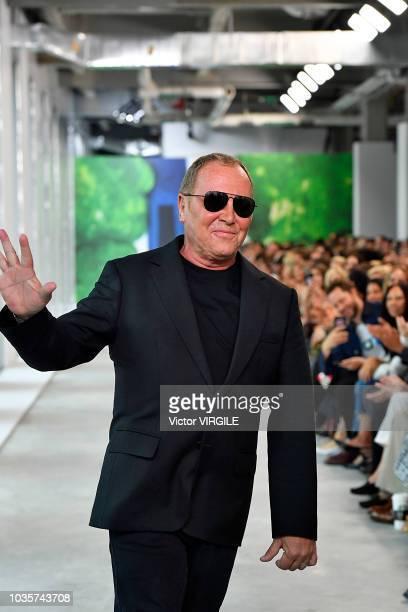 Fashion designer Michael Kors walks the runway at the Michael Kors Ready to Wear Spring/Summer 2019 fashion show during New York Fashion Week on...