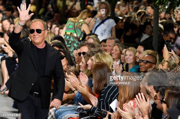 Fashion designer Michael Kors walks the runway at the Michael Kors Ready to Wear Spring/Summer 2020 fashion show during New York Fashion Week on...