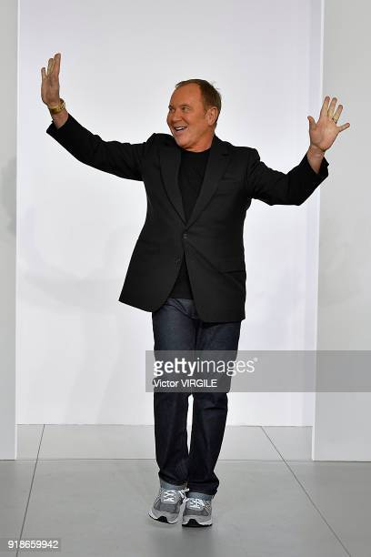 Fashion designer Michael Kors walks the runway at the Michael Kors Ready to Wear Fall/Winter 20182019 fashion show during New York Fashion Week on...