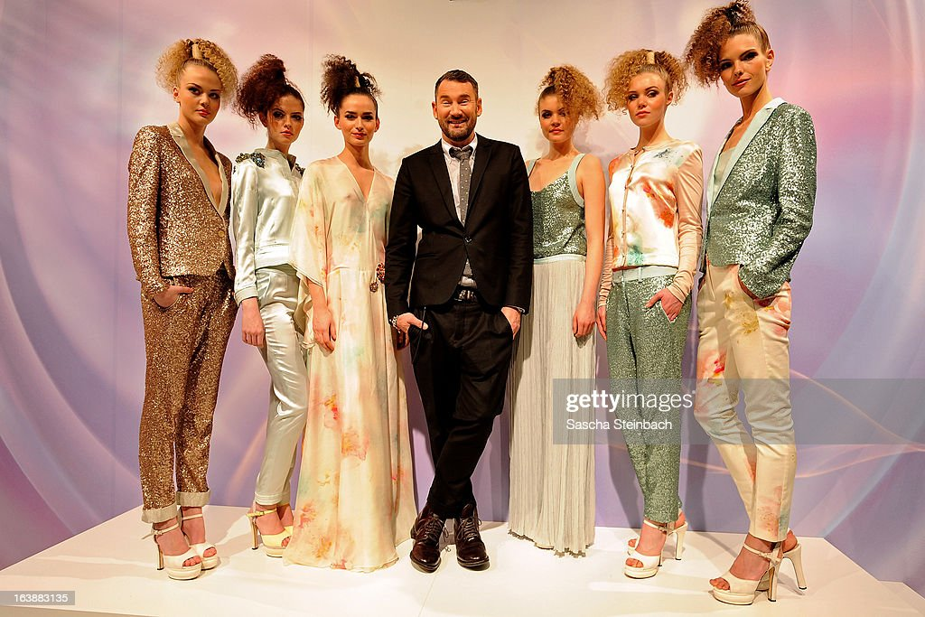 Fashion designer Michael Michalsky attends the Wella Professionals presentation at Top Hair International on March 17, 2013 in Dusseldorf, Germany.