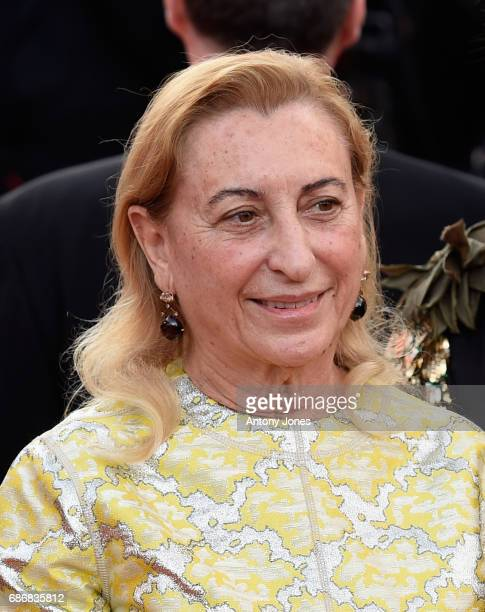 """Fashion designer Miuccia Prada attends the """"The Killing Of A Sacred Deer"""" screening during the 70th annual Cannes Film Festival at Palais des..."""