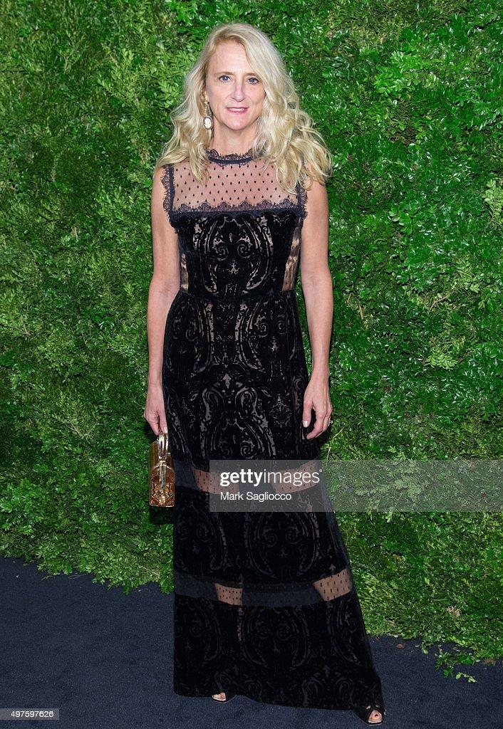 Fashion Designer Nanette Lepore attends the 8th Annual Museum Of Modern Art Film Benefit Honoring Cate Blanchett on November 17, 2015 in New York City.