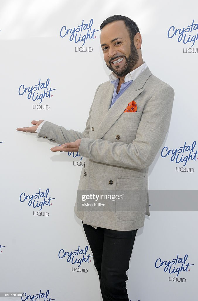 Fashion designer Nick Verreos attends Giuliana Rancic And Crystal Light Liquid Toast Red Carpet Style at SLS Hotel on February 26, 2013 in Los Angeles, California.