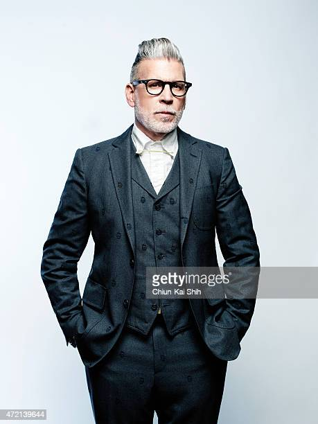 Fashion designer Nick Wooster is photographed for August Man on March 20 2015 in New York City