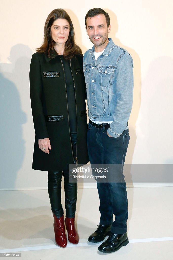 Louis Vuitton : Backstage - Paris Fashion Week Womenswear Spring/Summer 2015