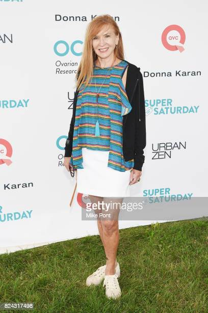 Fashion designer Nicole Miller attends OCRFA's 20th Annual Super Saturday to Benefit Ovarian Cancer on July 29 2017 in Watermill New York
