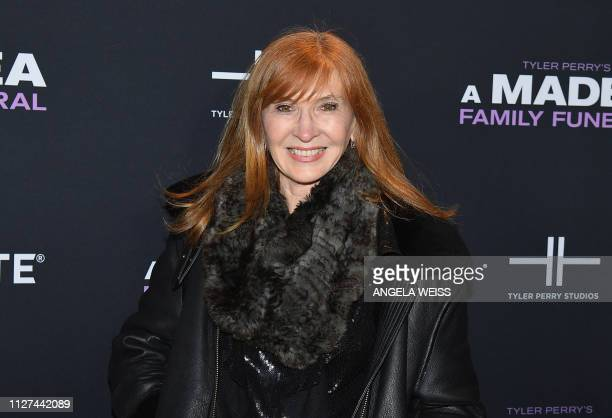 Fashion designer Nicole Miller attends the NY special screening for Tyler Perry's 'A Madea Family Funeral' at SVA Theater on February 25 2019 in New...