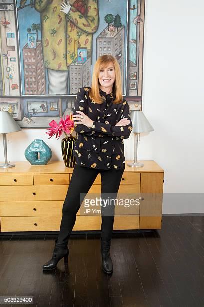 Fashion designer Nicole Miller is photographed for Resident Magazine on September 23 2015 in New York City