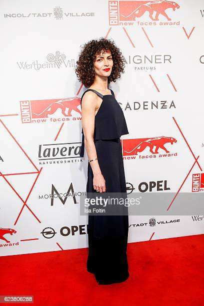 Fashion Designer Nobieh Talaei attends New Faces Award Style on November 16, 2016 in Berlin, Germany.