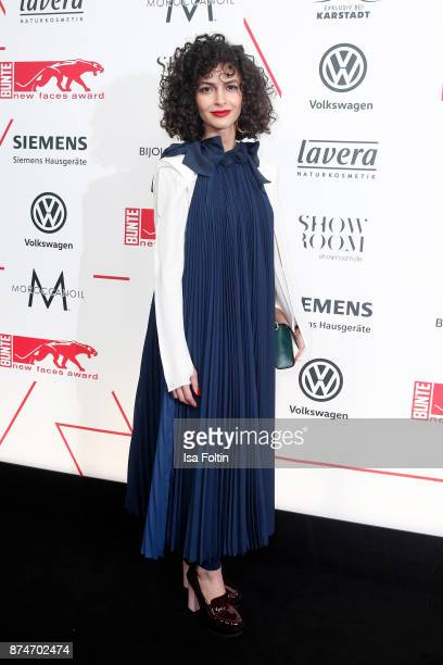 Fashion designer Nobiej Talaei attends the New Faces Award Style 2017 at The Grand on November 15 2017 in Berlin Germany