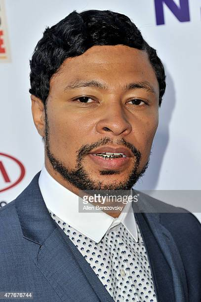 Fashion designer Octavius Terry attends the Black AIDS Institute 2015 Heroes in the Struggle Reception Gala and Awards Ceremony at Directors Guild Of...