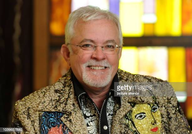 Fashion designer of deceased singer Michael Jackson Michael Bush is pictured at the Hard Rock Cafe in Munich Germany 29 April 2013 Bush designed and...