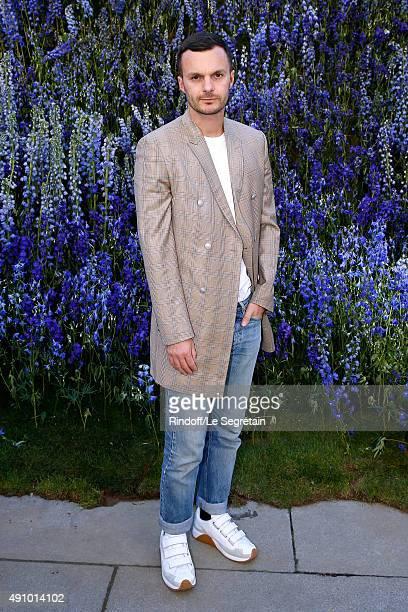 Fashion Designer of Dior Homme Kris Van Assche attends the Christian Dior show as part of the Paris Fashion Week Womenswear Spring/Summer 2016 Held...