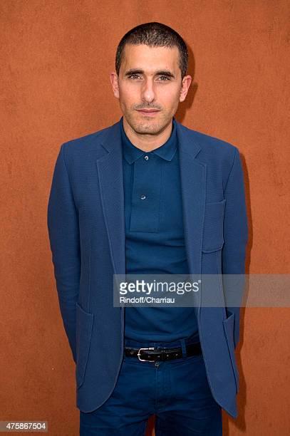 Fashion designer of Lacoste, Felipe Oliveira Baptista attends the 2015 Roland Garros French Tennis Open - Day Twelve, on June 4, 2015 in Paris,...