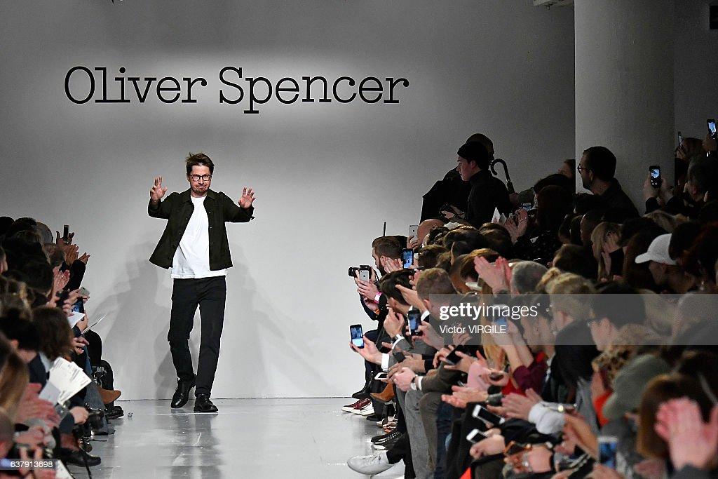 Oliver Spencer - Runway - LFW Men's January 2017 : News Photo