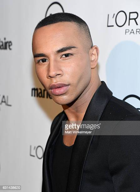 Fashion Designer Olivier Rousteing attends Marie Claire's Image Maker Awards 2017 at Catch LA on January 10 2017 in West Hollywood California