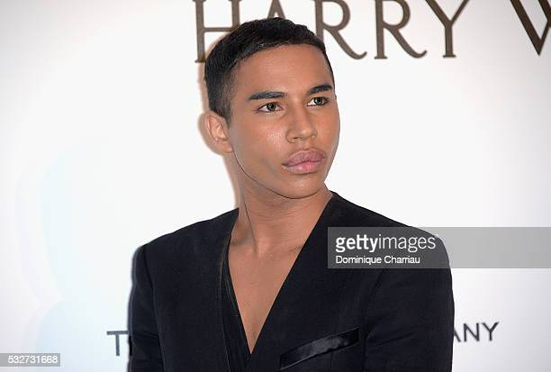 Fashion designer Olivier Rousteing attends the amfAR's 23rd Cinema Against AIDS Gala at Hotel du CapEdenRoc on May 19 2016 in Cap d'Antibes France