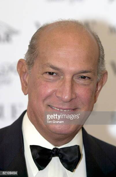 Fashion Designer Oscar De La Renta At A Fashion Show And Gala At Waddesdon Manor In Buckinghamshire In Aid Of The Macmillan Cancer Relief Charity