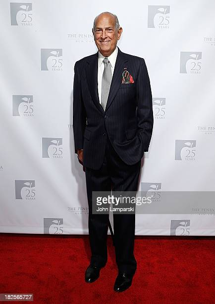 Fashion Designer Oscar de la Renta attend The Peninsula New York's 25th Anniversary Party on September 30 2013 in New York City