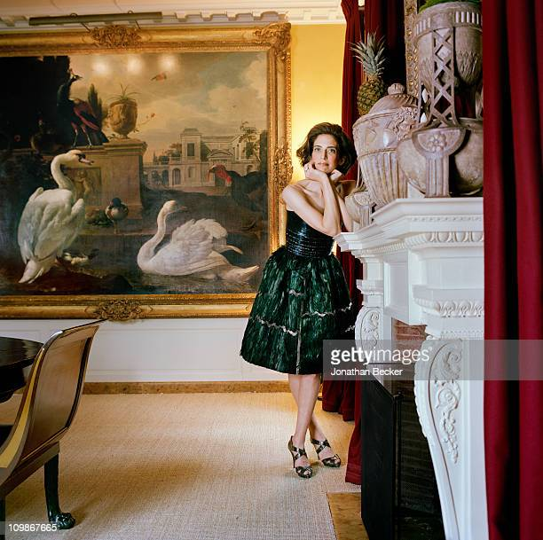 Fashion designer Oscar de la Renta's stepdaughter Eliza Bolen is photographed at home for Vanity Fair Spain on May 7 2009 in New York City Published...