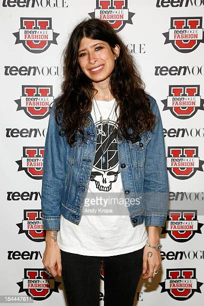 Fashion designer Pamela Love attends the 7th Annual Teen Vogue Fashion University at the Conde Nast building on October 20 2012 in New York City