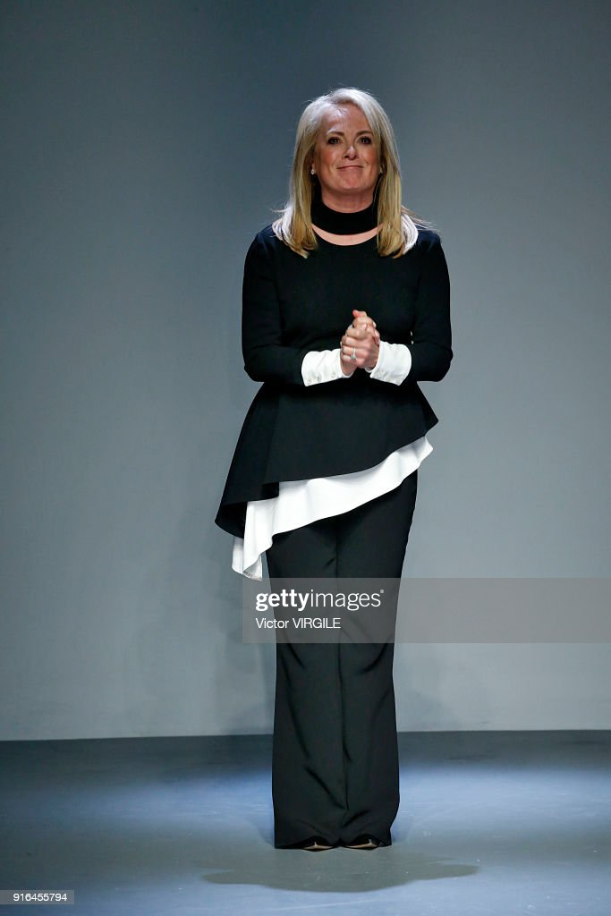 Pamella Roland - Runway - February 2018 - New York Fashion Week : Nachrichtenfoto