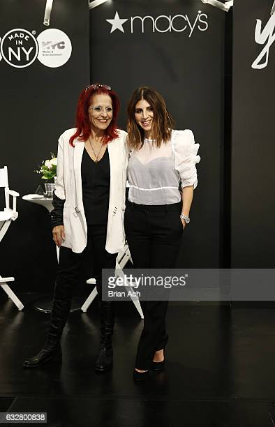Fashion designer Patricia Field and Costume designer Jacqueline Demeterio attend as Macy's celebrates the 50th Anniversary of the Mayor's Office Of...