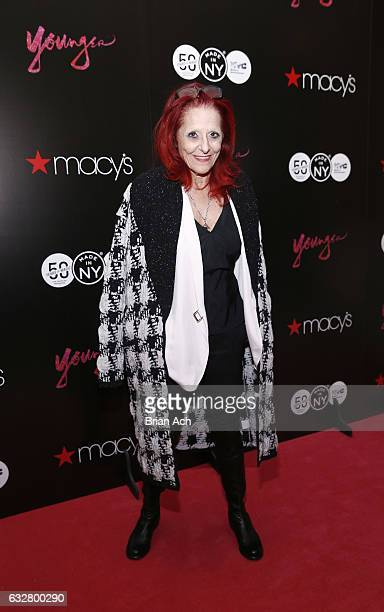 Fashion Designer Patricia Field attends as Macy's celebrates the 50th Anniversary of the Mayor's Office Of Media And Entertainment with fashion show...