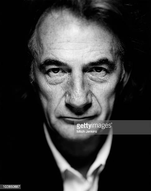 Fashion designer Paul Smith poses for a portrait shoot on January 9 2002 in London