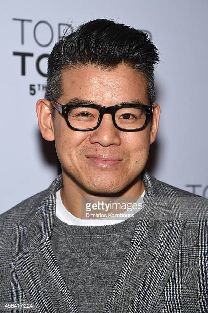 Fashion designer Peter Som attends the Topshop Topman New York City flagship opening dinner at Grand Central Terminal on November 4 2014 in New York...