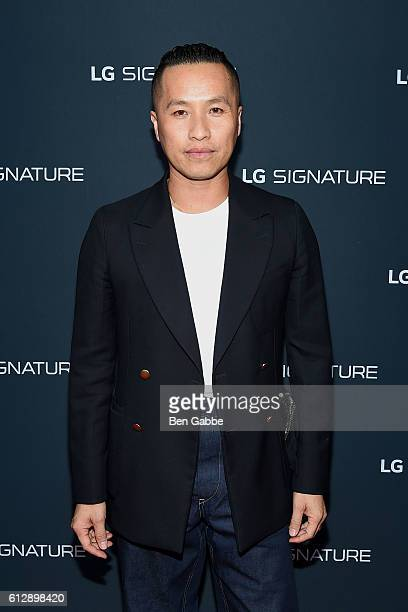 Fashion designer Phillip Lim attends the LG Signature Gallery Unveiling at LG Signature Gallery on October 5, 2016 in New York City.
